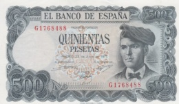 (B0591) SPAIN, 1971. 500 Pesetas. P-153a. AUNC (AU) - [ 3] 1936-1975: Regime Van Franco