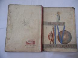 FASCISMO LIBRO DI RELIGIONE-STORIA-GEOGRAFIA PER LA IV CLASSE ELEMENTARE ERINNOFILIA - Unclassified