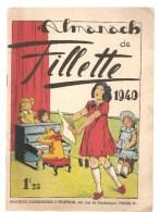 Almanach De Fillette De 1940. Ouvrage Agrafé De 50 Pages Des Editions Société Parisienne D´Edition - Autres