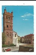 66  Canet Village Clocher Place Hotel De Ville Circulé 1967 TBEed Estel - Canet En Roussillon