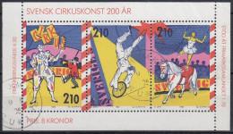 Suecia 1987 HB-15 Usado - Blocks & Sheetlets