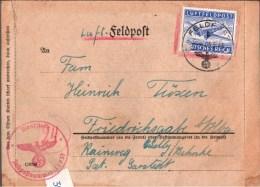 ! 1.5.1944 Seltener Feldpostbrief Aus Sewastopol , Letzte Tage Der Schlacht Um Die Krim, Russia, Russie, 2. Weltkrieg