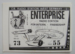 Kt 738 / QSL Radio Card, Enterprise, Straelen, Germany - Radio Amateur