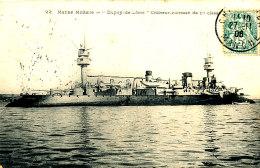 AC 05 /     C P A  -DUPUY-DE-LOME CROISEUR CUIRASSE DE 1ere CLASSE - Warships
