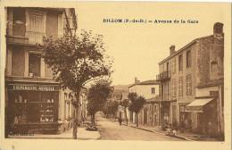 CPA  63  BILLOM AVENUE DE LA GARE COOPERATIVE AGRICOLE - France