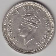 @Y@    Brittisch India   1  Rupee  1942   Argent  (3052) - Inde