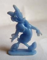 FIGURINE PUBLICITAIRE CAFE DONALD 1955 - DISNEY DAISY QUI MARCHE (2) Bleu Pas Cosmos Jux - Disney