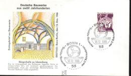 ALLEMAGNE  FDC    1966 Hall Lowenberg - Denkmäler