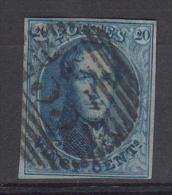 BELGIË - OBP - 1861 - Nr 11  (NIPA: P33) (MOOI) - Gest/Obl/Us - 1858-1862 Medallions (9/12)