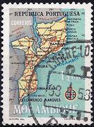 Mozambique 1954 - Maps Of Mocambique ( Mi 444 - YT 445 ) - Mozambique