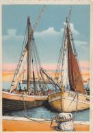 CPSM - SETE - CETTE  - Retour De Pêche - Illustrateur - Sete (Cette)