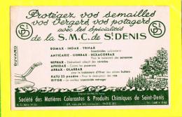Buvard :Protegez Vos Semailles Avec Les Specialités De La SMC De SAINT DENIS - Agriculture