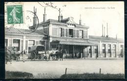 # - DREUX - La Gare (calèches) - Dreux