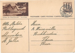 """PK 163  """"Gossau Im Fürstenland - Kt. St.Gallen""""              1948 - Interi Postali"""