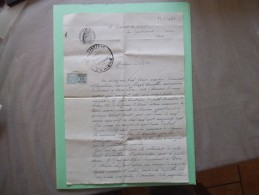 BOUE LE 24 JUIN 1948 M.VIAL JEAN A ESQUEHERIES ET M.JOSEPH CAMILLE A BOUE DEMANDENT QUE M.QUIGNON ALFRED GARDE PUISSE DE - Manuscrits