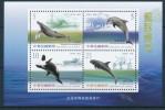 TAIWAN 2002 - Faune Marine, Baleines, Dauphins - BF Neuf // Mnh - 1945-... République De Chine