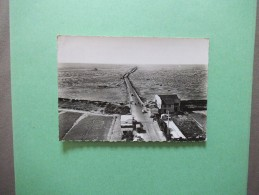 EN AVION AU-DESSUS DE.....ILE DE NOIRMOUTIER LE PASSAGE DU GOIS CÔTE CONTINENT 1960 - Ile De Noirmoutier