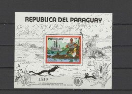 Paraguay 1985 International Youth Year, Tom Sawyer S/s MNH - Childhood & Youth