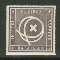 Suisse /Schweiz/Switzerland // Vignette Militaire // Sappeure ,Gebirgs Sappeur Bataillon 8 No. 42 - Poste Militaire