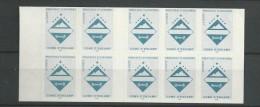 1997 MNH Andorra Fr, Booklet,  Postfris - Booklets