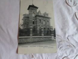 Ecaussines Villa De Mr Le Docteur Bureau En 1907 - Ecaussinnes