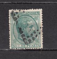1878    EDIFIL  Nº 196 - 1875-1882 Reino: Alfonso XII