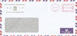 "Hong Kong 2002 Sai Ying Pun Unviversity Hasler ""Mailmaster"" H788 Meter Franking Cover - 1997-... Speciale Bestuurlijke Regio Van China"