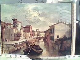 MILANO NAVIGLIO CHESA S MARCO  DI PITTORE IGNOTO     VB1985 FO4522 - Milano