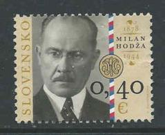 Slowakije, Yv 553 Jaar 2010, Gestempeld, Zie Scan - Slovaquie