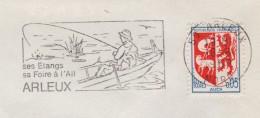 Etangs - Foire A L Ail - Arleux - 1969 - Theme Peche Gastronomie - Annullamenti Meccanici (pubblicitari)