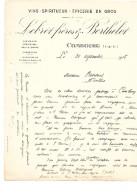 VINS SPIRITUEUX LEBRET FRERES & BERTHELOT - COMBOURG - 1900 – 1949
