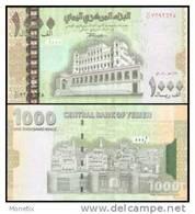 Yemen Arab Republic #33, 1.000 Rials, 2004/AH1424, UNC / NEUF - Jemen