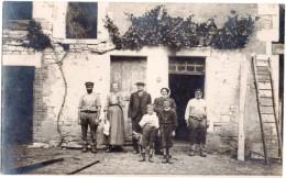 MIGE Rare Carte Photo PRENEREAU  89 Yonne . 2 Scans - Autres Communes