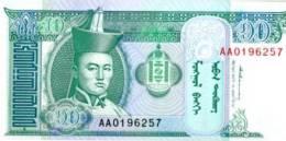MONGOLIA 10 Tugrik  (1993) **UNC** - Mongolia