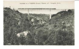 23 VIADUC DE LA TARDES Avec TRAIN - Hauteur 103 Metres Longueur 280 Mètres   / CPA Pinthon à Evaux VIERGE / TBE - France