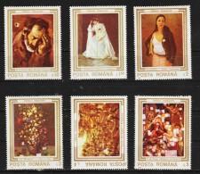 1990 - Oeuvres D Art  Endommages Durant La Revolution Mi No 4622/4627 Et Yv No 3909/3914 MNH - 1948-.... Republiken