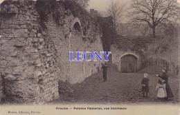CPA De PROVINS (77) - POTERNE FANNERON - VUE INTERIEURE -  ANIMATIONS - édit MAURIS Libraire -1915 - Provins