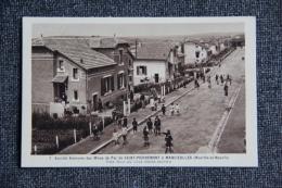 Société Anonyme Des Mines De Fer De SAINT PIERREMONT à MANCIEULLES, Une Rue Du Clos Saint Martin. - Maxeville