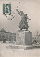 D25429 CARTE MAXIMUM CARD 1959 POLAND - MONUMENT JAN KILINSKI WARSZAWA CP ORIGINAL - Monumenti