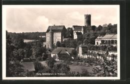 AK Gnandstein, Teilansicht Mit Blick Zur Burg - Allemagne