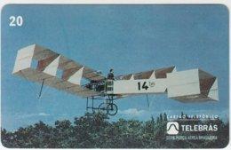 BRASIL B-841 Magnetic Telebras - Traffic, Historic Airplane - Used - Brésil
