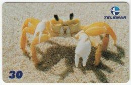 BRASIL B-927 Magnetic Telemar - Animal, Sea Life, Crab - Used - Brésil