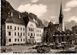 LIECHTENSTEIN---VADUZ FURSTENTUM--regierungsgebaude Erb. 1905---voir 2 Scans - Liechtenstein