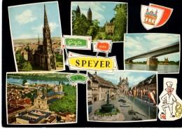 ALLEMAGNE---SPEYER --multi-vues---voir 2 Scans - Speyer