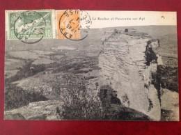 84 APT Le Rocher Et Panorama + Olympiade 1924 - Apt