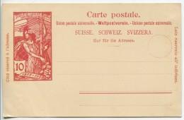 Old Postal Card  - Stationery ( Stamp 10 C. : Original Design) - Entiers Postaux