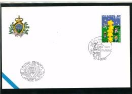 SAN MARINO FDC -  EUROPA CEPT -  ANNO 2000 - FIRST DAY COVER - FDC