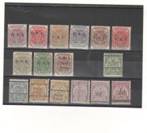 Lot De 16 Timbres Neuf Avec Gomme De Postzegel Z AFR.REPUBLIEK - Afrique Du Sud (1961-...)