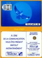 Télécarte Publique 1990 F134Aa Mat, De 50u SC4an7 (12/90) Utilisée SUPERBE - 1990