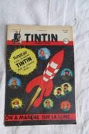 JOURNAL DE TINTIN 187 1952 ON A MARCHE SUR LA LUNE - Kuifje